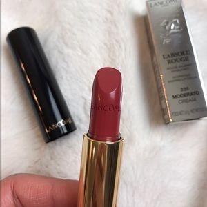 Lancôme sheer lipstick (shade: 335 moderato)